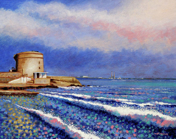 Wall Art - Painting - Seapoint - Dublin by John  Nolan