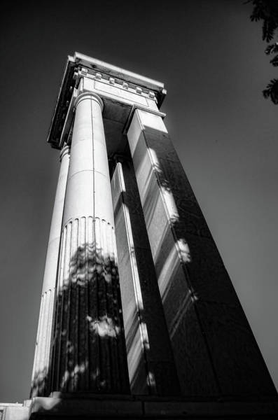 Photograph - Seaport's Columns by Borja Robles