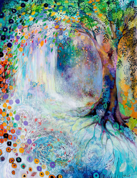 Wall Art - Painting - Searching For Forgotten Paths IIi by Jennifer Lommers