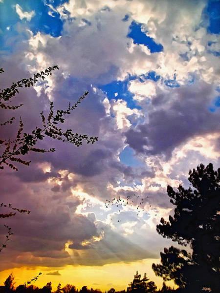 Desert Sunset Photograph - Searchlight by Glenn McCarthy Art and Photography