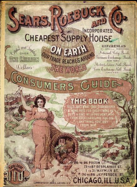 Digital Art - Sears And Roebuck Poster by Carlos Diaz