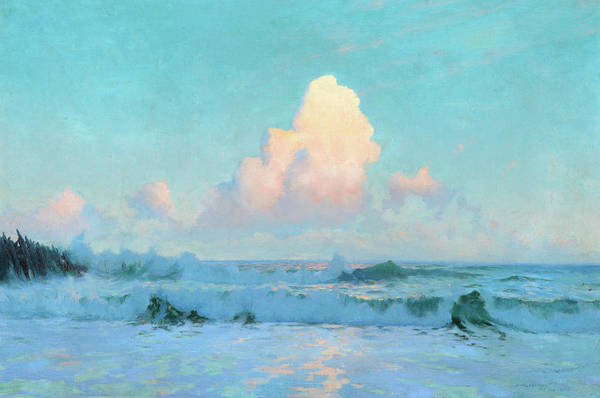 Wall Art - Painting - Seascape, 1893 by Sydney Laurence