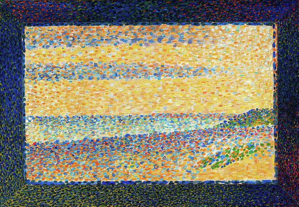 Wall Art - Painting - Seascape - Digital Remastered Edition by Georges Seurat