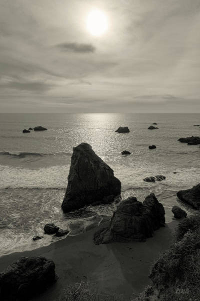 Photograph - Seascape Jenner California I Toned by David Gordon