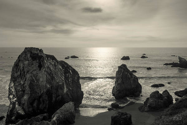 Photograph - Seascape Jenner California IIi Toned by David Gordon