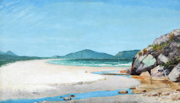 Painting - Seascape    by Jose Ferraz de Almeida Junior