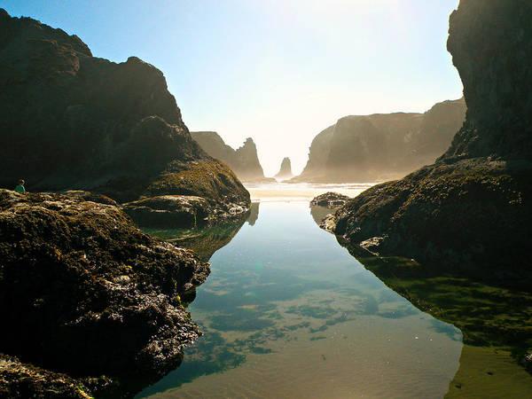 Photograph - Seascape by Micki Findlay