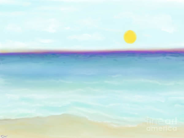 Painting - Seascape  by Reina Resto