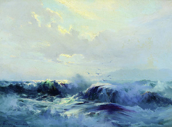 Wall Art - Painting - Seascape by Sydney Laurence