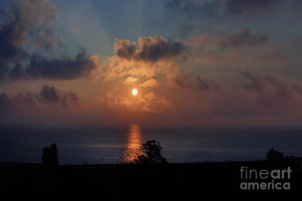 Wall Art - Photograph - Seascape With A Bright Full Moon by Viktor Birkus