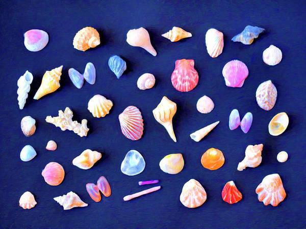 Wall Art - Painting - Seashells by Dominic Piperata