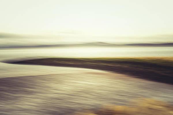 Wall Art - Photograph - Seashore Blur by David Ridley