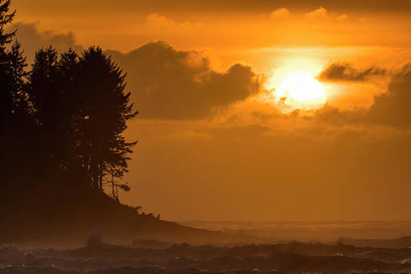 Photograph - Seaside Cove Sunset by Robert Potts