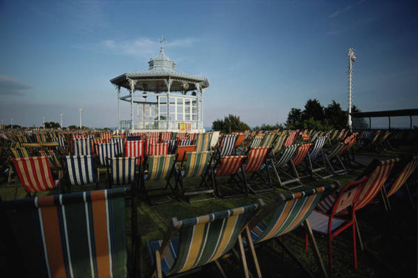 Deck Chair Photograph - Seaside Deck Chairs by Epics