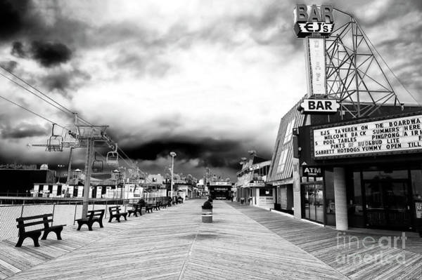 Down The Shore Photograph - Seaside Heights Before The Crowds by John Rizzuto