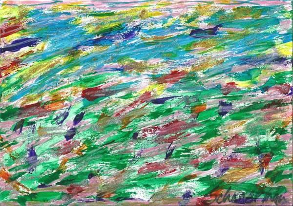 Drawing - Seaside Sensation by Susan Schanerman
