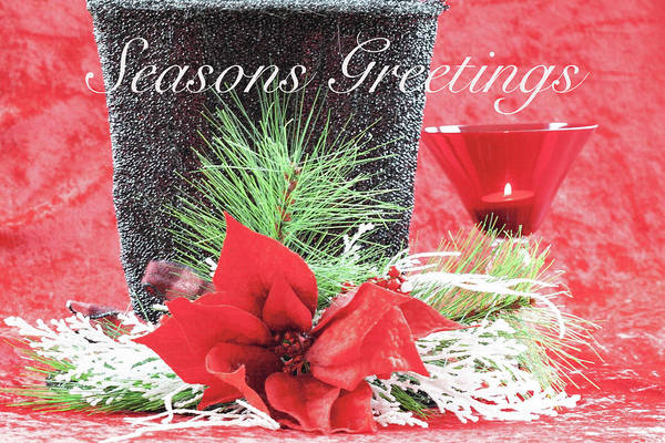 Clothing Design Mixed Media - Seasons Greetings by Sherry Hallemeier