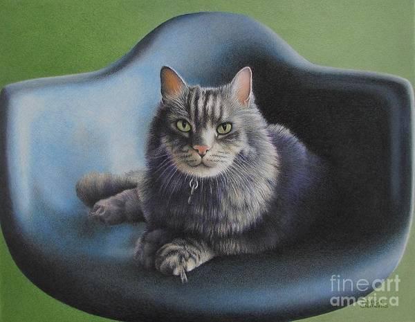 Drawing - Seat Taken by Pamela Clements