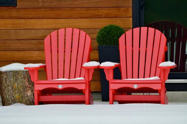 Wall Art - Photograph - Seating For Two Please by Greg Hayhoe