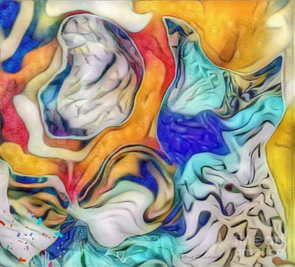 Digital Art - Sea Tossed by Kathie Chicoine