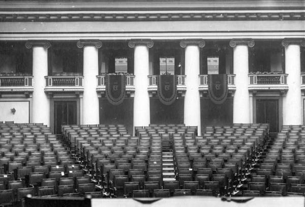Wall Art - Photograph - Seats At Assembly by Hulton Archive