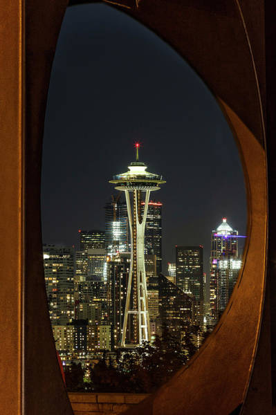 Photograph - Seattle Framed by Wes and Dotty Weber