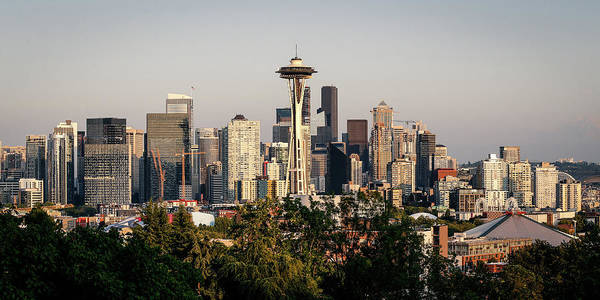 Wall Art - Photograph - Seattle Skyline II by Athena Mckinzie