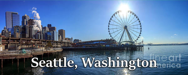 Photograph - Seattle Washington Waterfront  by G Matthew Laughton