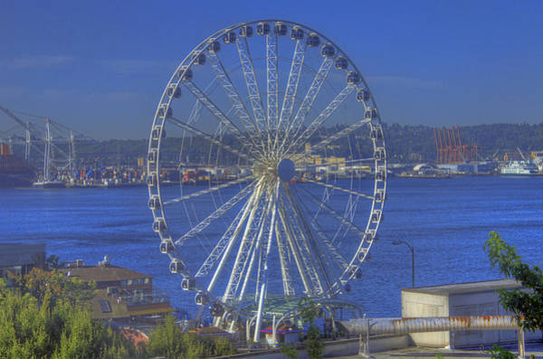 Camera Raw Photograph - Seattle's Eye by Brenton Cooper
