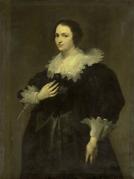 Painting - Sebastiaan Leerse's Wife by Willem Bartel van der Kooi
