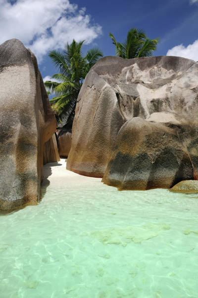 Wall Art - Photograph - Secluded Beach, Anse Source Dargent by 4fr