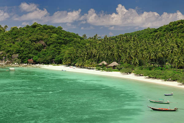 Phi Photograph - Secluded Paradise Tropical Beach With by 4fr