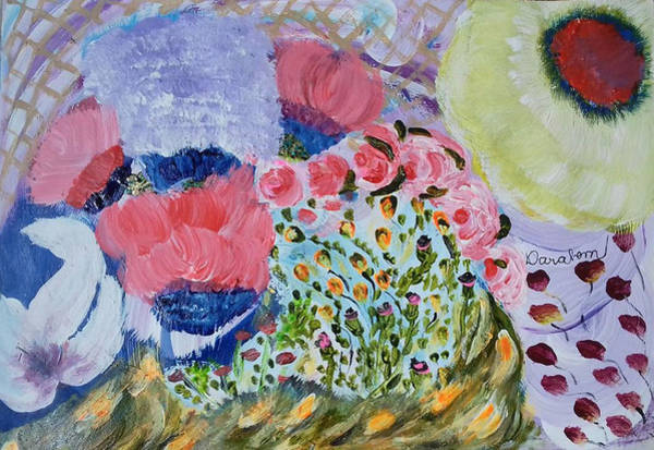 Painting - Second Flowers by Darabem Artist