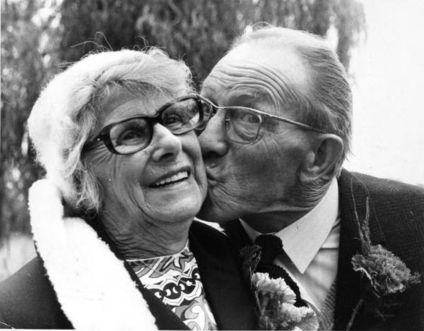 1974 Photograph - Second Marriage by Evening Standard