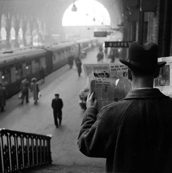 Commuter Rail Wall Art - Photograph - Secret Agent by Harry Kerr