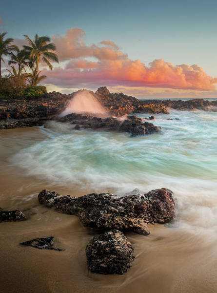 Photograph - Secret Beach / Maui, Hawaii  by Nicholas Parker