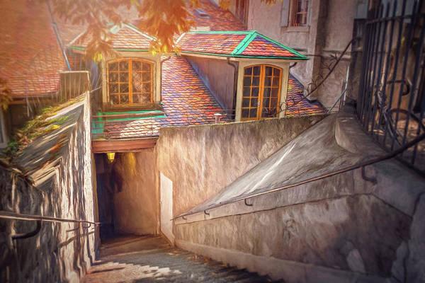 Wall Art - Photograph - Secret Passage Geneva Old Town  by Carol Japp