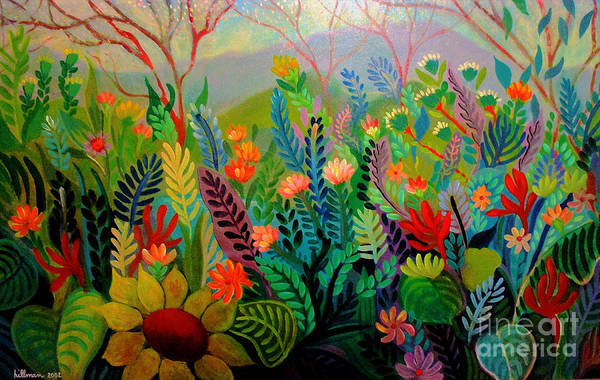 Wall Art - Painting - Secret Place by A Hillman