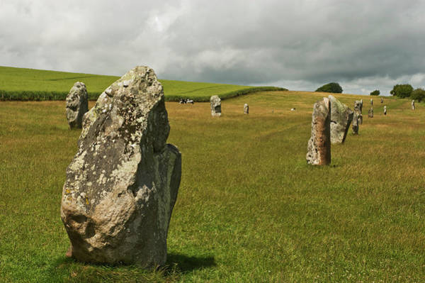 Prehistoric Era Wall Art - Photograph - Section Of The Neolithic Henge Monument by John Hay