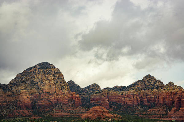 Photograph - Sedona Landscape Xxviii Color by David Gordon