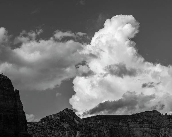 Photograph - Sedona Landscape Xxxiii Bw by David Gordon