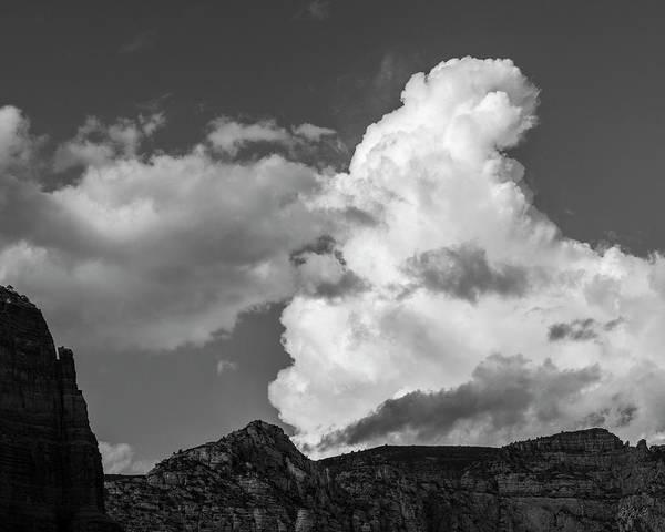Photograph - Sedona Landscape Xxxiii Bw by David Gordon
