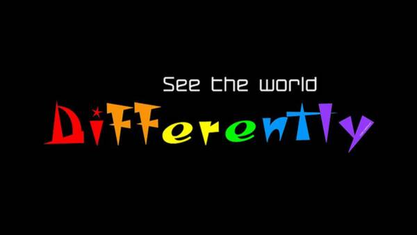 Digital Art - See The World Differently - Custom Products by ISAW Company