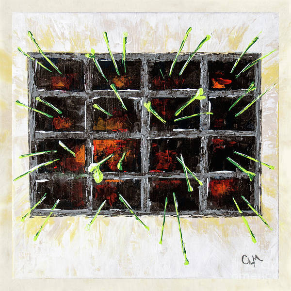 Painting - Seedlings by Cheryl McClure