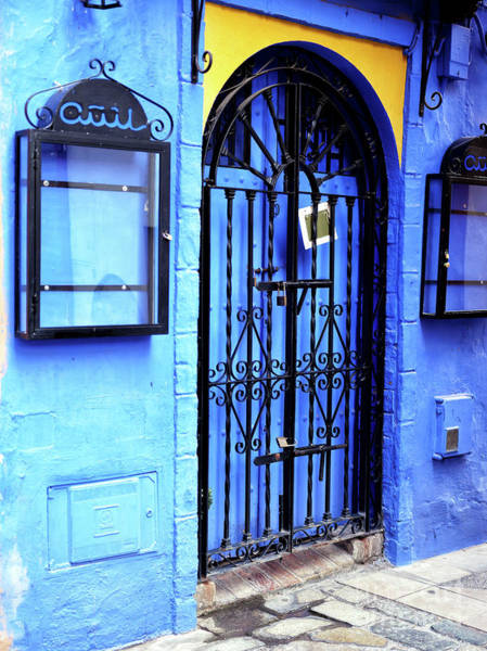 Photograph - Seeing Blue In Seville by John Rizzuto