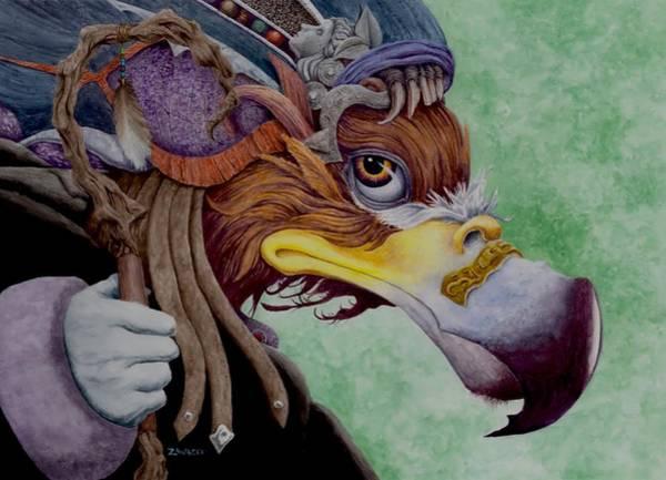 Animal Painting - Seer by Michael Zawacki