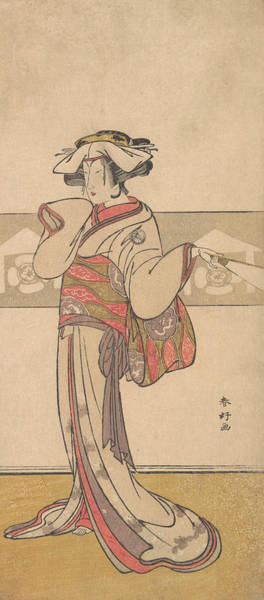Relief - Segawa Kikunojo IIi In The Role Of Oiso No Tora by Katsukawa Shunko