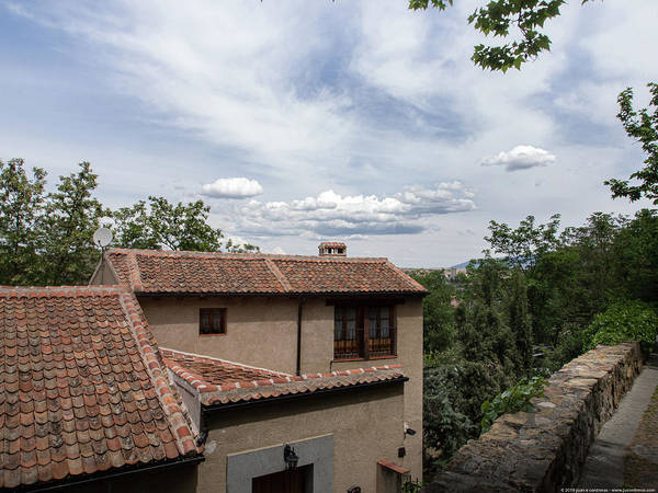 Photograph - Segovia Sky by Juan Contreras