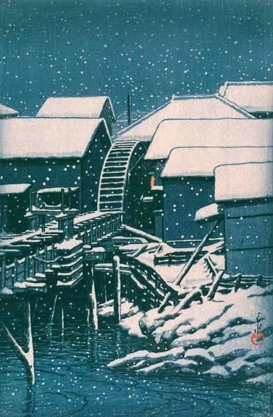 Wall Art - Painting - Sekiguchinoyuki - Top Quality Image Edition by Kawase Hasui