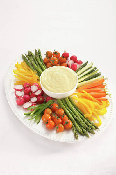 Wall Art - Photograph - Selection Of Vegetables, Including by Dorling Kindersley